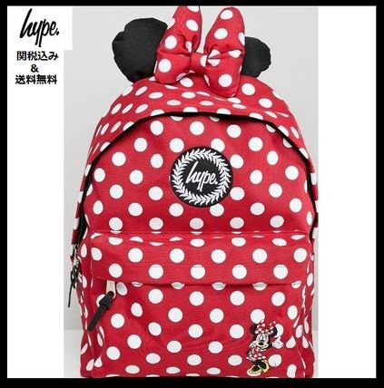 Dots Casual Style Collaboration Backpacks