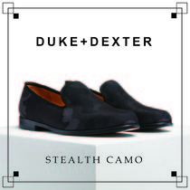 Duke & Dexter Camouflage Leather Handmade Loafers & Slip-ons