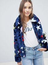 ASOS Star Casual Style Faux Fur Coats