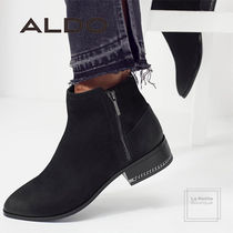 ALDO Round Toe Casual Style Chain Plain Leather Oversized