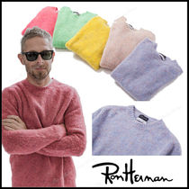 Ron Herman Crew Neck Pullovers Unisex Long Sleeves Knits & Sweaters