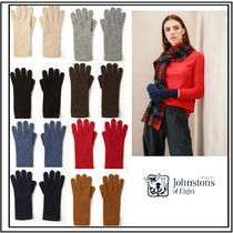 Johnstons Casual Style Cashmere Plain Gloves Gloves