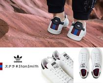 adidas by Stella McCartney Round Toe Casual Style Faux Fur Street Style Collaboration