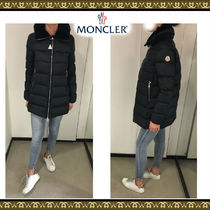 MONCLER TORCYN Velvet Plain Medium Down Jackets