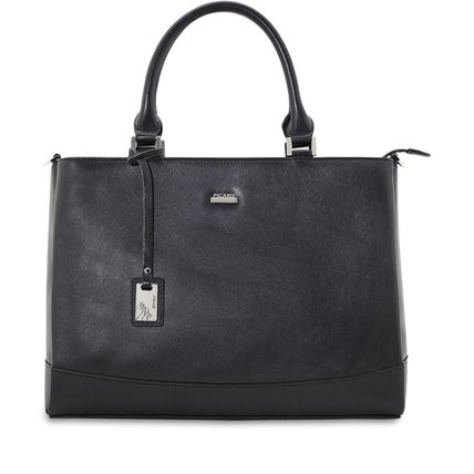Leather Office Style Shoulder Bags