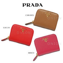 PRADA Leather Coin Purses