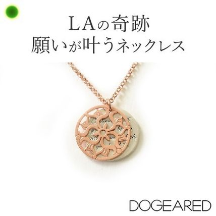 Dogeared Casual Style Flower Silver Necklaces & Pendants