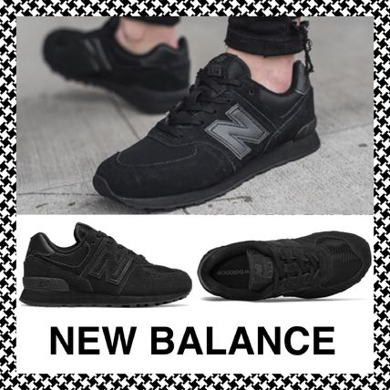 Lace-up Casual Style Unisex Plain Low-Top Sneakers