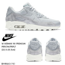 Nike AIR MAX 90 Platform Casual Style Street Style Plain Leather