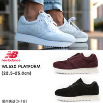 New Balance Platform Casual Style Suede Street Style Plain Bold