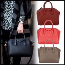 GIVENCHY ANTIGONA 2WAY Plain Elegant Style Handbags
