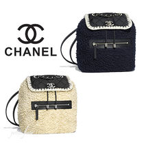 CHANEL Casual Style Street Style Backpacks