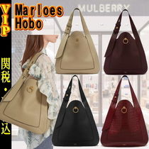 Mulberry 2WAY Plain Leather Elegant Style Totes
