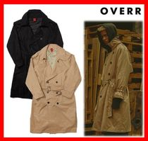 OVERR Street Style Trench Coats
