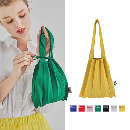 Casual Style 2WAY Plain Purses Totes