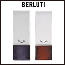 Berluti Blended Fabrics Plain Leather Wallets & Small Goods
