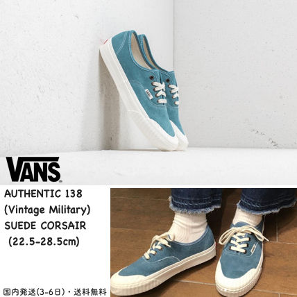 44012c4a2b ... VANS Low-Top Casual Style Unisex Suede Blended Fabrics Street Style  Plain ...