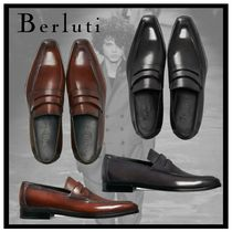 Berluti Loafers Leather V Tips Loafers & Slip-ons