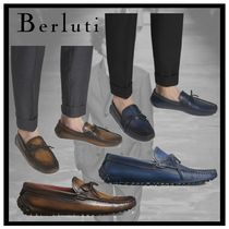 Berluti Moccasin Plain Leather U Tips Loafers & Slip-ons