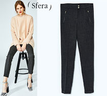 Sfera Zigzag Office Style Cropped & Capris Pants