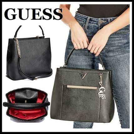 a3160c0f119b5 Guess 2WAY Plain Leather Handbags (DX-18-050) by igirl - BUYMA