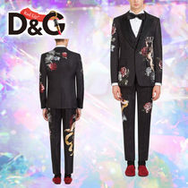 Dolce & Gabbana Blended Fabrics Suits