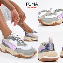 PUMA THUNDER SPECTR Platform Round Toe Lace-up Plain Platform & Wedge Sneakers