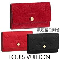 Louis Vuitton MONOGRAM EMPREINTE Monogram Leather Keychains & Bag Charms