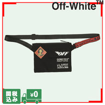Off-White Unisex Street Style Hip Packs