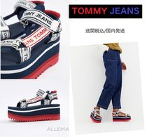 Tommy Hilfiger Open Toe Platform Casual Style Home Party Ideas