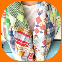 HERMES Other Check Patterns Silk Party Style Home Party Ideas