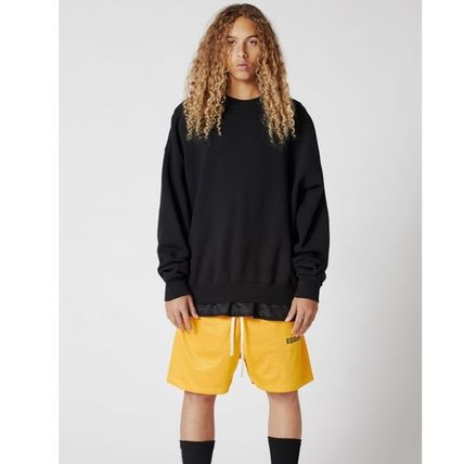 FEAR OF GOD Sweatshirts Street Style U-Neck Collaboration Long Sleeves Cotton 3