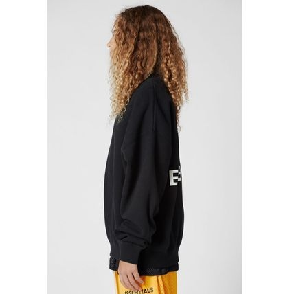 FEAR OF GOD Sweatshirts Street Style U-Neck Collaboration Long Sleeves Cotton 4