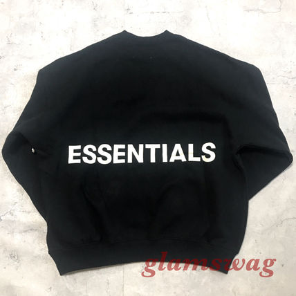 FEAR OF GOD Sweatshirts Street Style U-Neck Collaboration Long Sleeves Cotton 5
