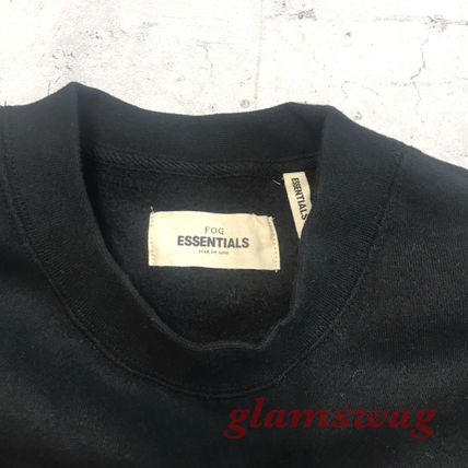 FEAR OF GOD Sweatshirts Street Style U-Neck Collaboration Long Sleeves Cotton 9