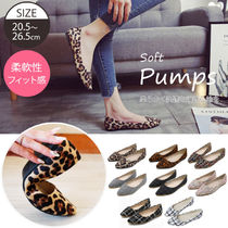 Other Check Patterns Leopard Patterns Platform Casual Style