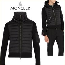 MONCLER Wool Blended Fabrics Hoodies