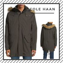 Cole Haan Plain Long Parkas