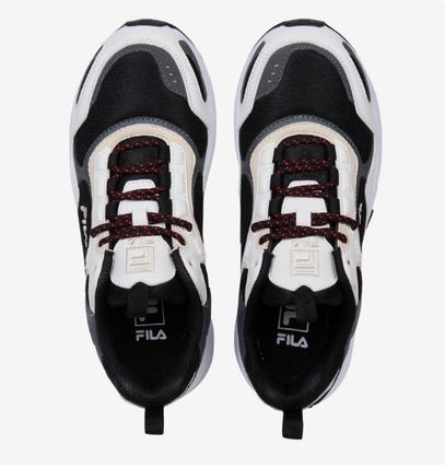 FILA Low-Top Casual Style Unisex Street Style Low-Top Sneakers 11