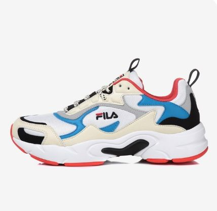 FILA Low-Top Casual Style Unisex Street Style Low-Top Sneakers 13
