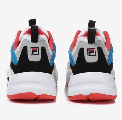 FILA Low-Top Casual Style Unisex Street Style Low-Top Sneakers 15