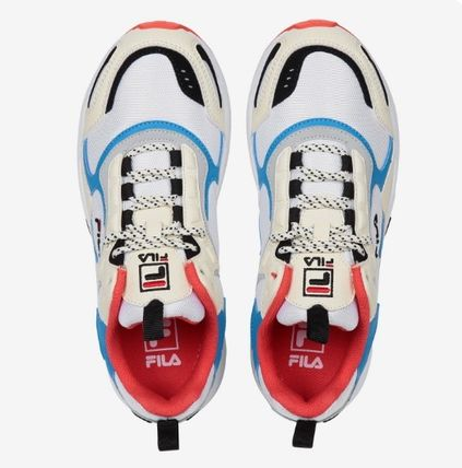FILA Low-Top Casual Style Unisex Street Style Low-Top Sneakers 16