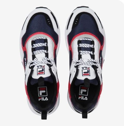 FILA Low-Top Casual Style Unisex Street Style Low-Top Sneakers 20