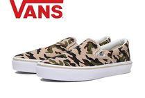 VANS SLIP ON Camouflage Casual Style Unisex Low-Top Sneakers