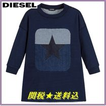 DIESEL Petit Kids Girl Dresses