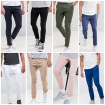 ASOS Plain Khaki Skinny Fit Pants