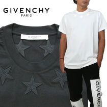 GIVENCHY Street Style Cotton Oversized T-Shirts