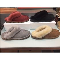 UGG Australia COQUETTE Sheepskin Plain Shoes