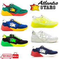 Atlantic STARS Star Suede Blended Fabrics Handmade Sneakers