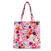 kate spade new york Flower Patterns Canvas A4 Shoppers